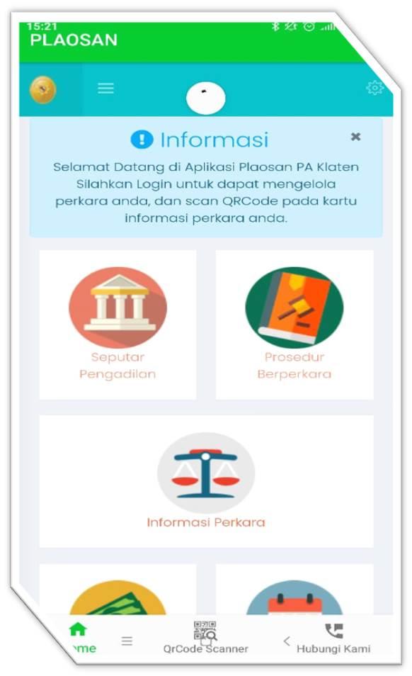 Aplikasi Antrian Sidang dan Informasi Perkara